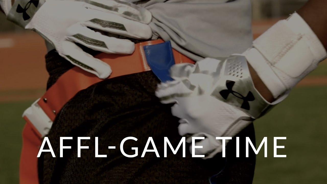 The American Flag Football League – Game Time