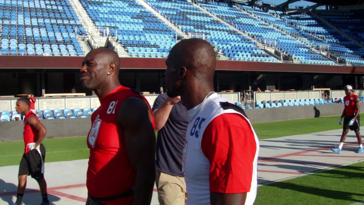 The American Flag Football League – TO and Ochocinco Talk Trash